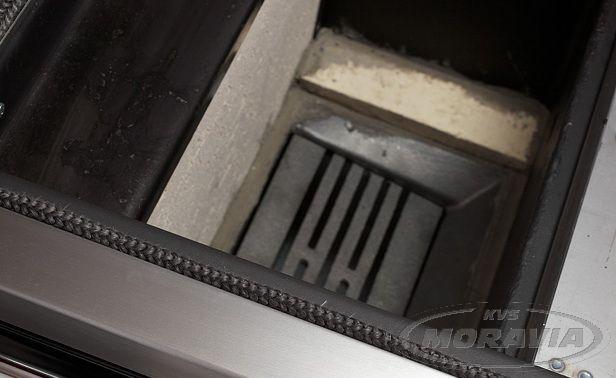 Sporák na pevná paliva stroubou TYP 9112-V