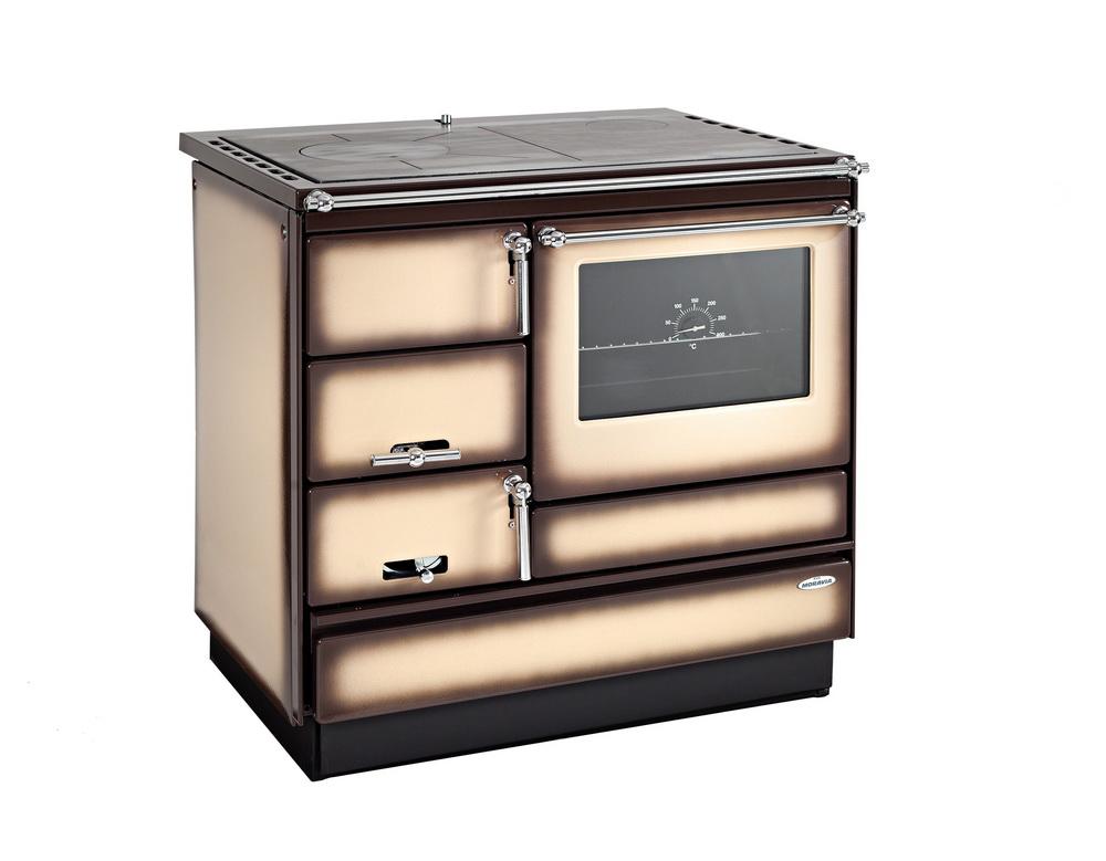 Solid-fuel range cooker – type 9103